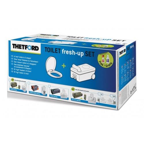 Thetford C400 Serisi Kasetli Tuvalet Yenileme Seti