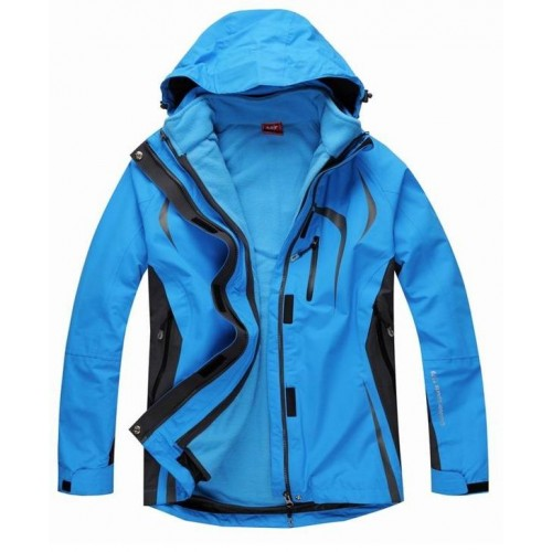 A&C 3 In 1 Kadın Ceket-MAVİ
