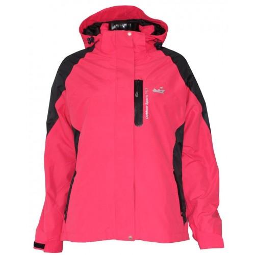 A&C 3 In 1 Kadın Ceket-PEMBE