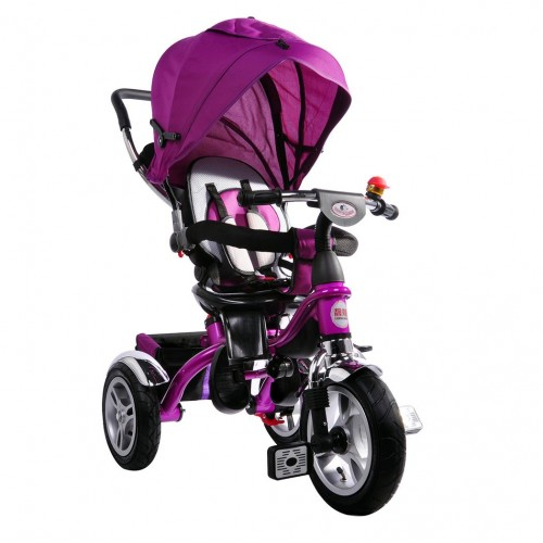 AndCar Ebeveyn Kontrollü İtmeli Çocuk Bisiklet-MOR