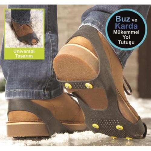 Andoutdoor Kauçuk Buz Kramponu L 41-45