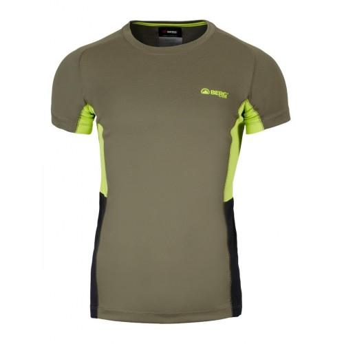 Berg Cairo Erkek T-Shirt-YEŞİL