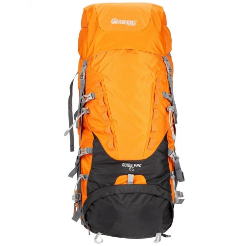 Berg Guide Pro Trekking Sırt Çantası 65 Litre-TURUNCU