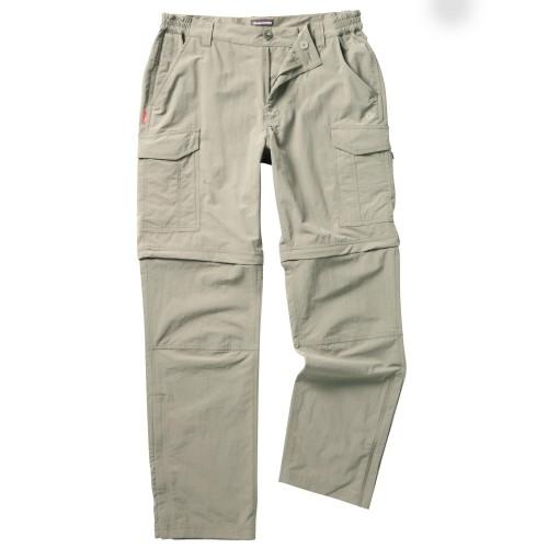 Craghoppers NosiLife Convertible Trousers Trekking Erkek Pantolon-BEJ