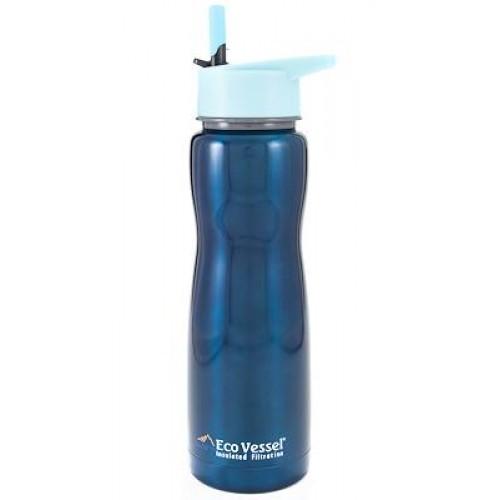 Eco Vessel Aqua Vessel Insulated Filtre Bottle Termos 0.75 Litre-TURKUAZ