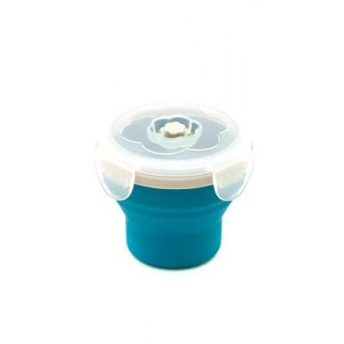Eco Vessel Smashbox Snacker Katlanır Bardak-MAVİ