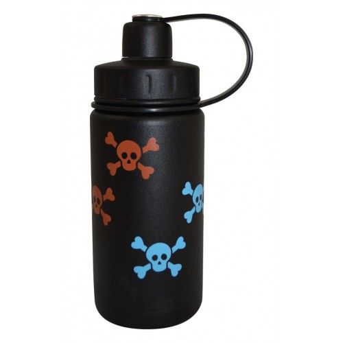 Eco Vessel Twist Triple Insulated Bottle With Screw Termos 0.40 Litre-SİYAH