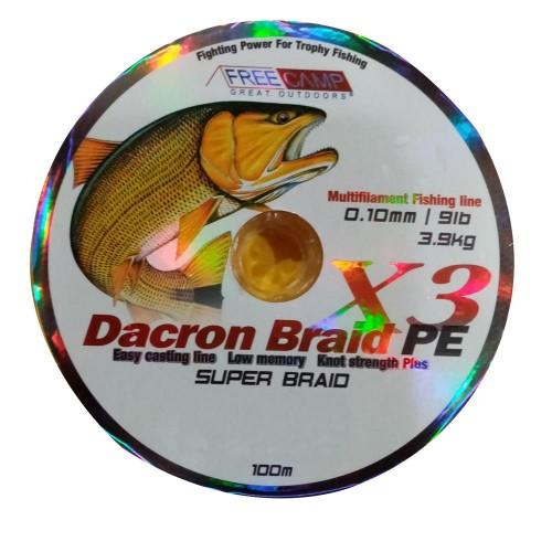 FreeCamp Dakron 100m 0.10mm Olta Misinası