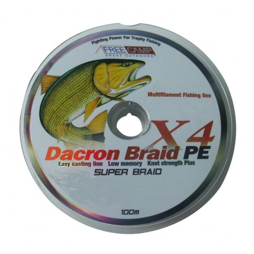 FreeCamp Dakron 100m 0.18mm Olta Misinası