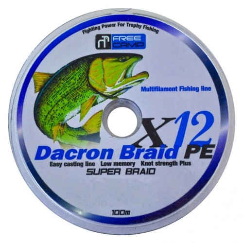 FreeCamp Dakron 12 Braid 100m 0.37mm Olta Misinası