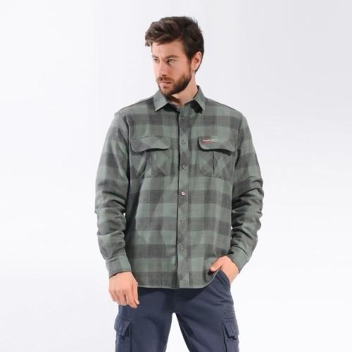 Freecamp Knit Man Fleece Shirt-HAKİ