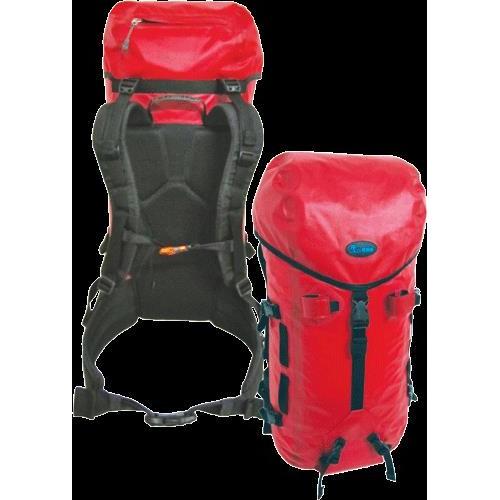 Jr Gear Excela Su Geçirmez Trekking Sırt Çantası 50 Litre-KIRMIZI