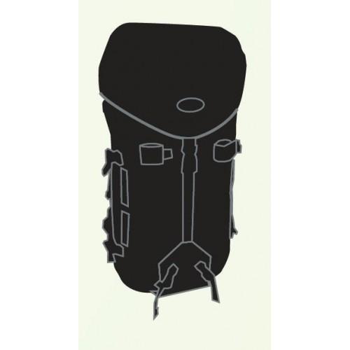 Jr Gear Excela Su Geçirmez Trekking Sırt Çantası 50 Litre-SİYAH