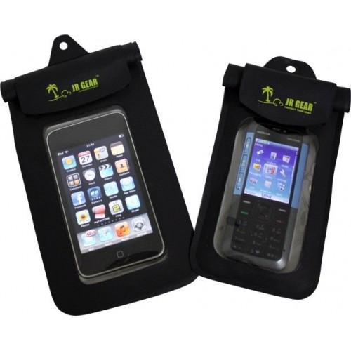 Jr Gear Su Geçirmez Telefon Kılıfı-SİYAH