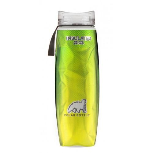 Polar Bottle Ergo Insulated Halftone Termos 0.65Lt-YEŞİL