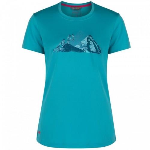 Regatta Fingal Kadın II T-Shirt-MAVİ