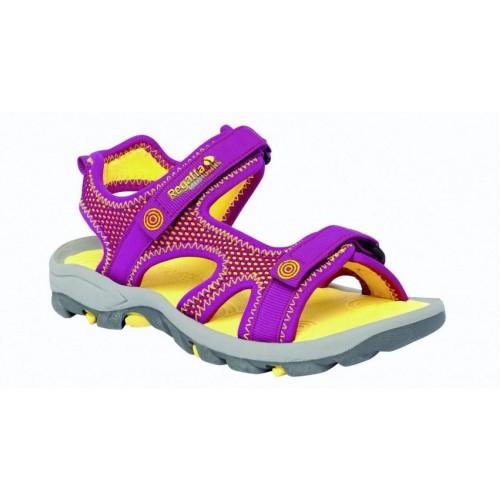 Regatta Girls Flux II Çocuk Sandalet-SARI