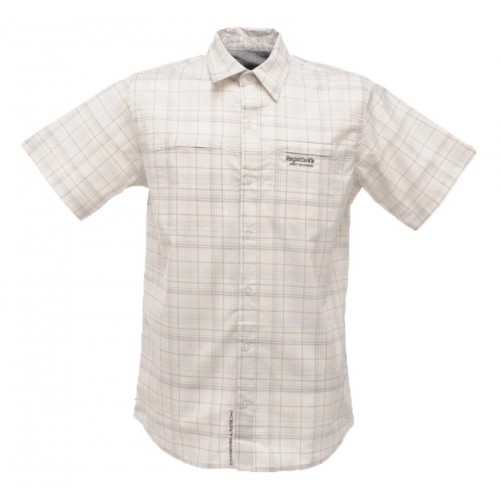 Regatta Granby Erkek Gömlek-GRİ