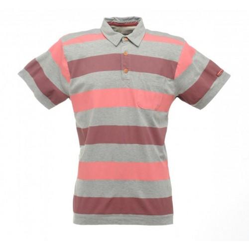 Regatta Quietstorm Polo Yaka Erkek T-Shirt-KAHVERENGİ