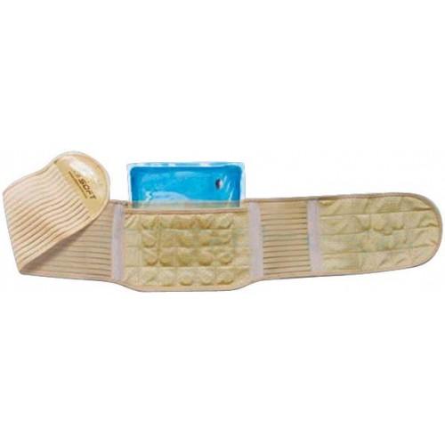Soft Medikal SH0203F Sıcak Soğuk Tedavi Mıknatıslı Bel Kemeri (M) (8904)