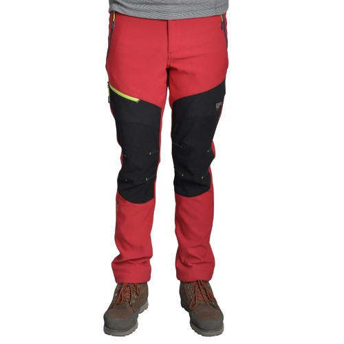 Sphere Pro Men Polyester Elastan Pantolon-KIRMIZI