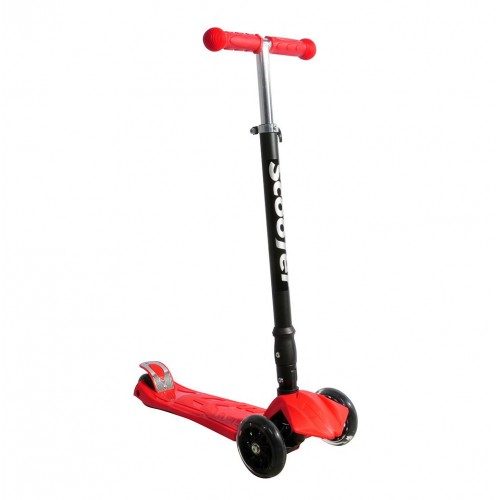 Xslide Işıklı Tekerlekli Scooter-KIRMIZI