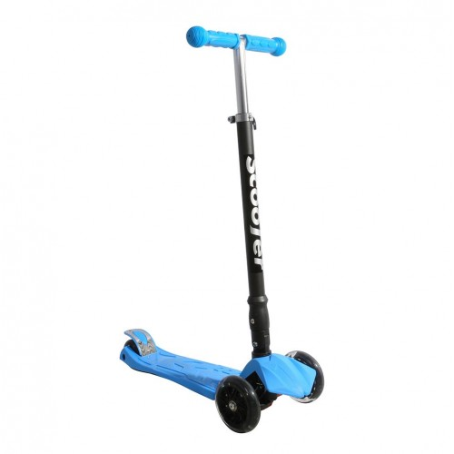 Xslide Işıklı Tekerlekli Scooter-MAVİ
