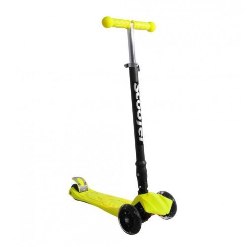 Xslide Işıklı Tekerlekli Scooter-SARI
