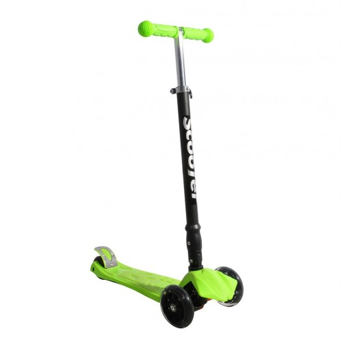 Xslide Işıklı Tekerlekli Scooter-YEŞİL