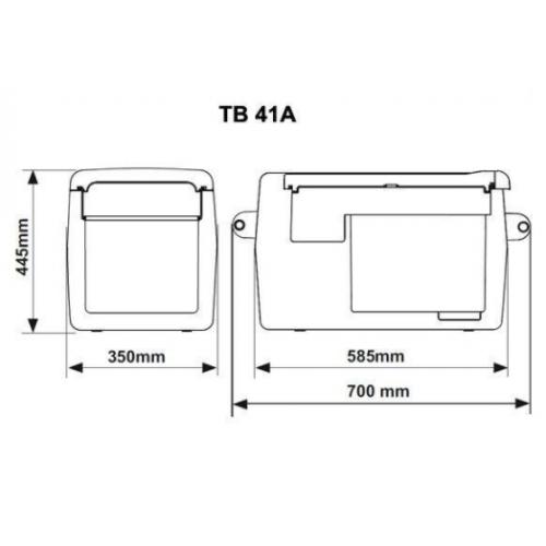 IndelB TB41A 220 Buzdolabı